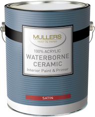 Mullers Ceramic Satin Paint