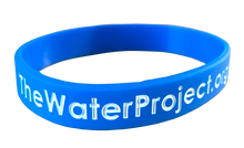 Wristband - Available for groups participating in The Water Challenge Fundraiser.   More info: http://thewaterproject.org/thewaterchallenge