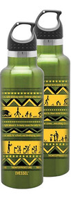 Insulated Water Bottle - Green