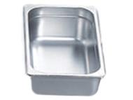 "Pro Restaurant Equipment Bain Marie Pan, 1/3 Size Pan, 13"" x 7"" x 4"""