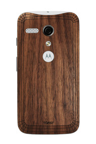 Moto G (MOTG) Walnut back panel