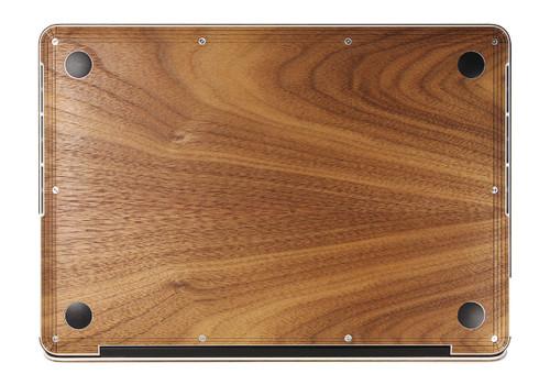 Laptop Bottom Cover Walnut