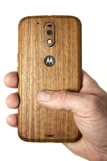 Moto G4 Walnut back panel