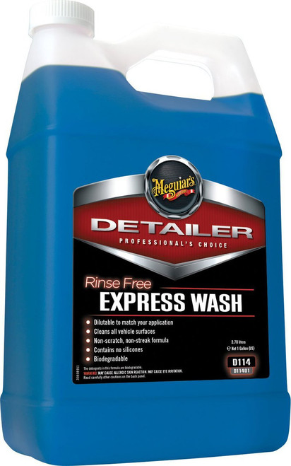 Meguiar's Rinse Free Express Wash 1 Gallon