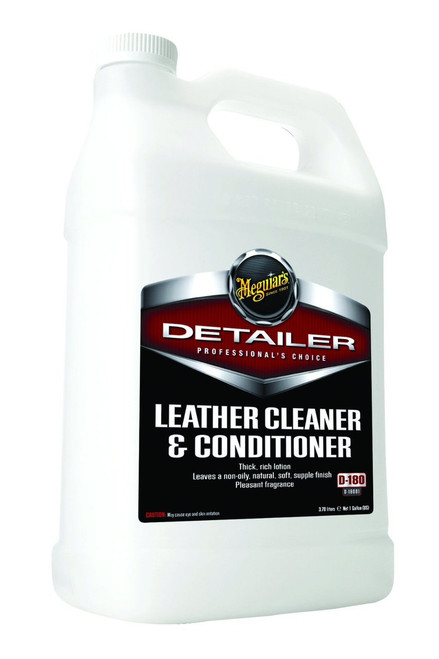 Meguiar's Leather Cleaner & Conditioner 1 Gallon