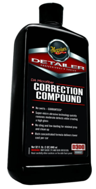 Meguiar's DA Microfiber Correction Compound 32oz.