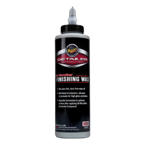 Meguiar's DA Finishing Wax 16oz.