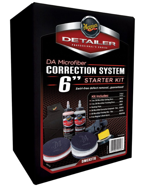 "Meguiar's DA Microfiber Correction System Kit (6"" disc)"