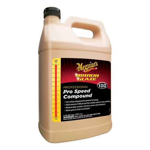 Meguiar's M100 Mirror Glaze Pro Speed Compound  - 1 Gallon