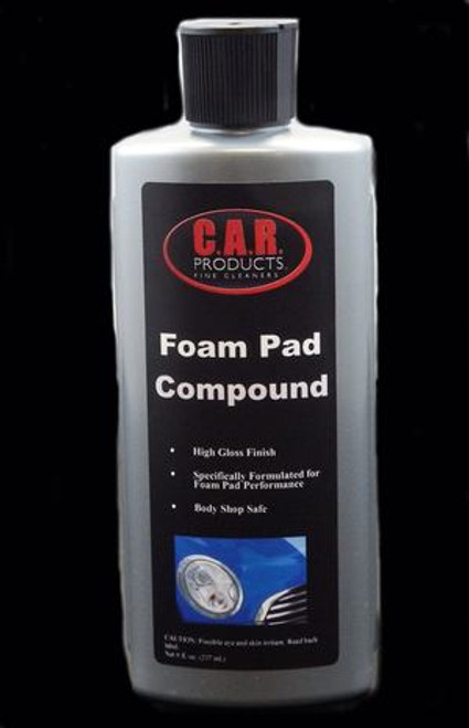 C.A.R. Products® - Foam Pad Compound - 8oz