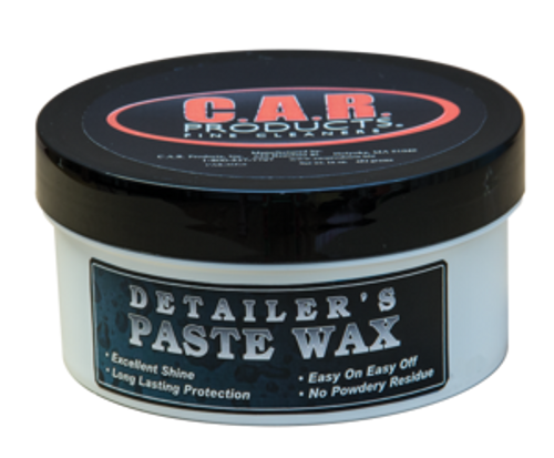 C.A.R. Products® - Detailer's Paste Wax - 16oz