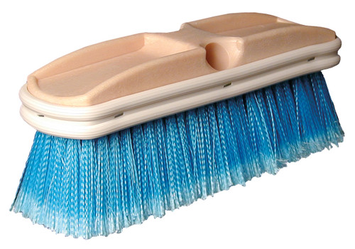 SM Arnold - Medium Bristle Wash Deck Brush (Blue) 10""