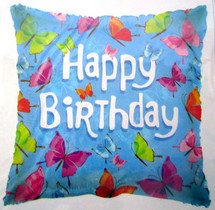 Happy Birthday Butterfly Balloons