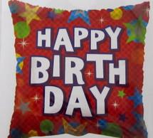 Happy Birthday Stars Balloons