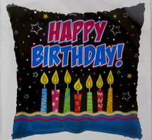Happy Birthday Candles Balloon