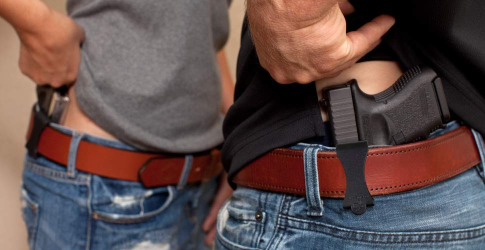 Leather belts for IWB holster