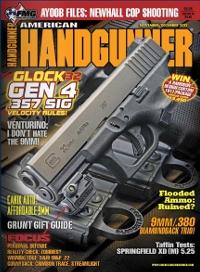 American Handgunner Cover November December 2012