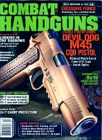 Combat Handguns March 2013