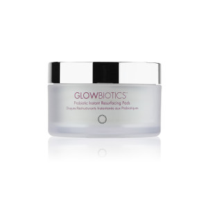 Clinical strength probiotic resurfacing pads instantly help reveal radiant, youthful-looking skin with fewer lines, wrinkles pores and blemishes