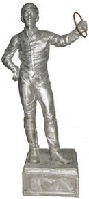 Jockey Boy Statue (unpainted)