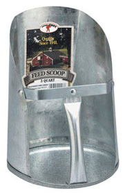 Feed Scoop Metal 3 quart