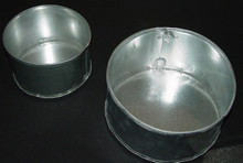 Feed Cups Metal 1 quart