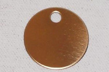 Nameplate 2 Sided Round Tag