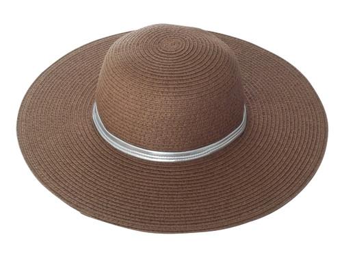 Girls Sun Hat- brown