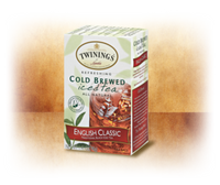 English Classic Cold Brewed Iced Tea Twinings of London