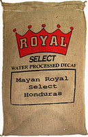 Mayan Royal Select Water Processed Decaf Green Coffee Beans