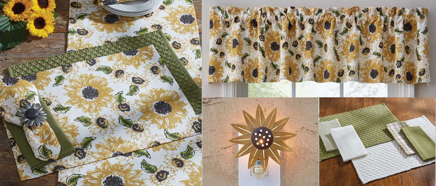 rustic sunflower collection