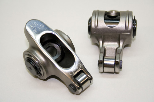 "0235002 - Small Block Chevy 1.5 x 3/8"" Self-Aligning, PRW Stainless Steel Rocker Arms"