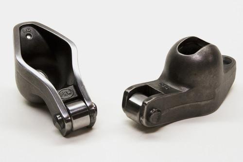 "0830210 - Small Block Ford 1.6/1.7 x 3/8"" Self-Aligning Split Ratio Set - PRW Sportsman Steel Rocker Arms"