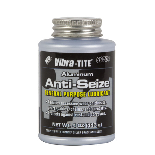 ANTI-SEIZE, CAN, Aluminum Compound, Silver, 4oz brushtop can