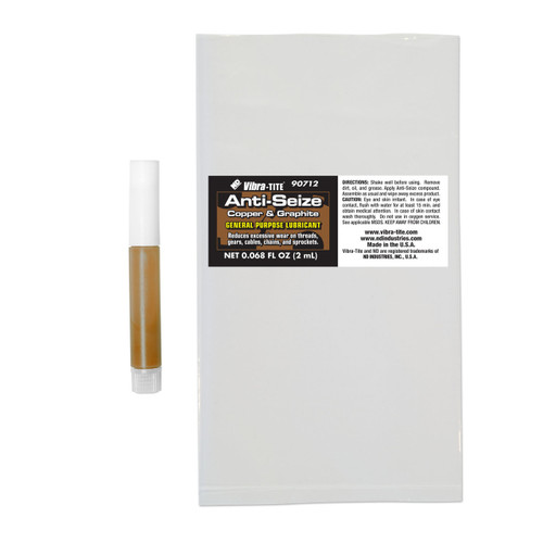 ANTI-SEIZE, BULLET, Copper Compound, Copper, 2ml tube