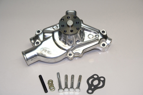 1435012 - Small Block Chevy 1955-1995, (Competition/Race), 3/4 Pilot Hub, 5.8125 Block-to-Hub, Polished