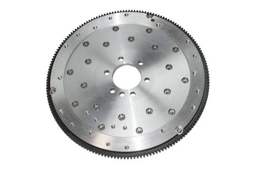 "FLYWHEEL, SFI BILLET ALUM, 6061 T-6, CHEV, 1955-85 SB 262-400 V6/V8, BB V8 396-427, and ""WB"" 348-409, 168T, Int Bal, 1045 SFP, includes 383/400 c/weight"
