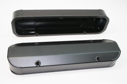 4045517 - Pontiac 301-455, Short Design, Satin Black Anodized