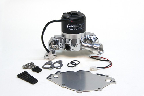 4430219 - Small Block Ford 302-351W, Die Cast Aluminum, Chrome, Kit Incl. Backplate, Hardware and Pig Tail