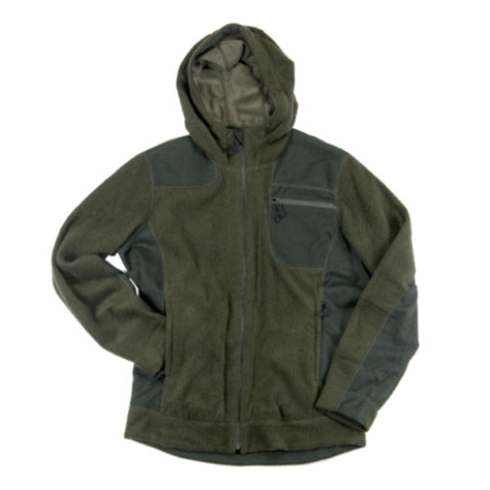 Wool Fleece Hooded Jacket