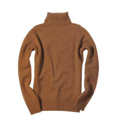 Cashmere/Merino Turtleneck Sweater
