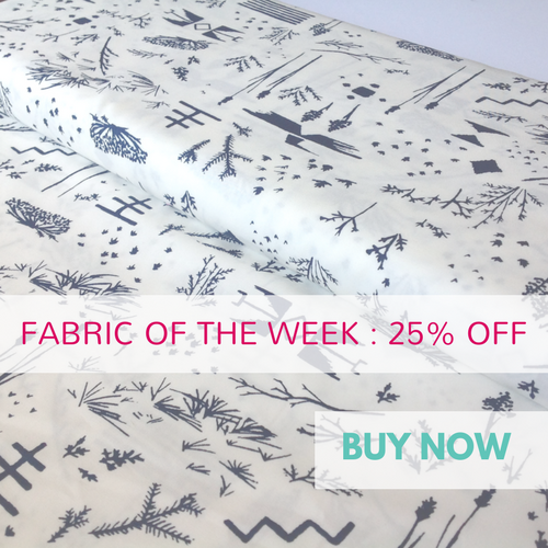 Survey Ore from the Bound collection by Art Gallery Fabrics 25% Off Fabric of The Week