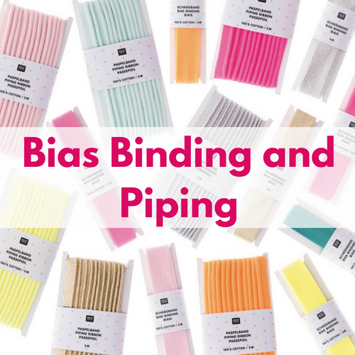 Bias Binding & Piping, Decorative Trims For Sewing Projects