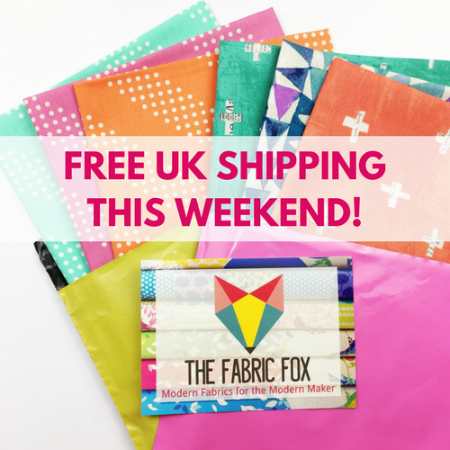 Free UK Shipping This Weekend