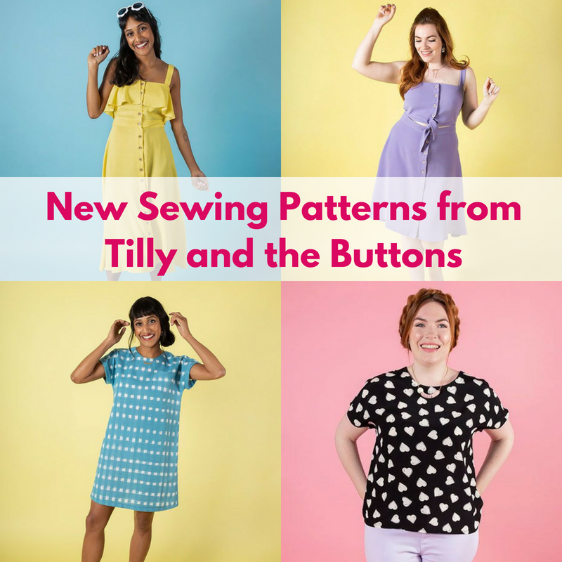 New Sewing Patterns by Tilly & The Buttons