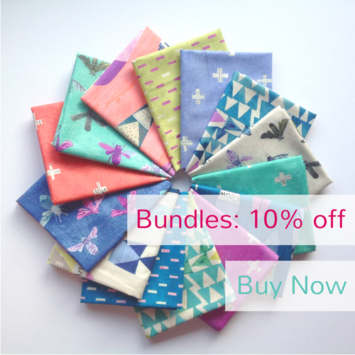 10% Off All Bundles at The Fabric Fox