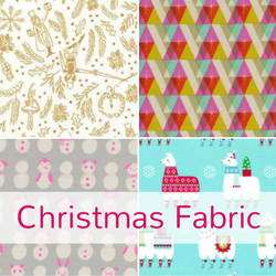 Christmas fabric at The Fabric Fox