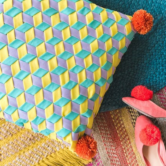 Binding Weaved Cushion