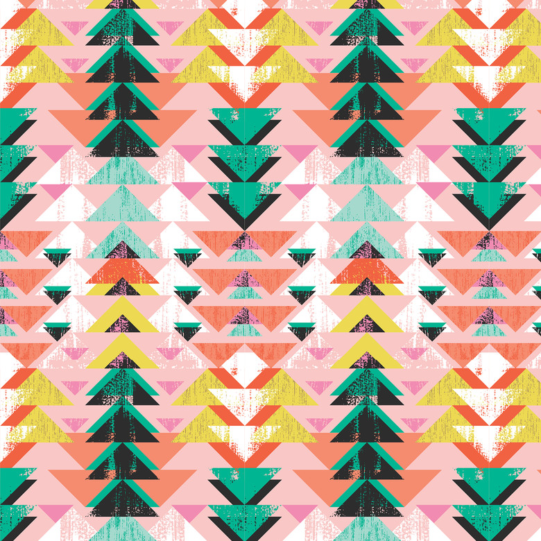 Direction Pink from the Tropical Paradise collection by Blend Fabrics