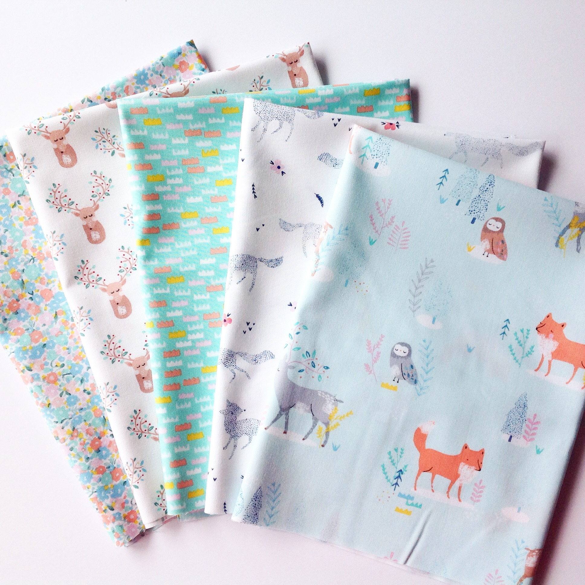 Pine Grove Fat Quarter Bundle by Dear Stella